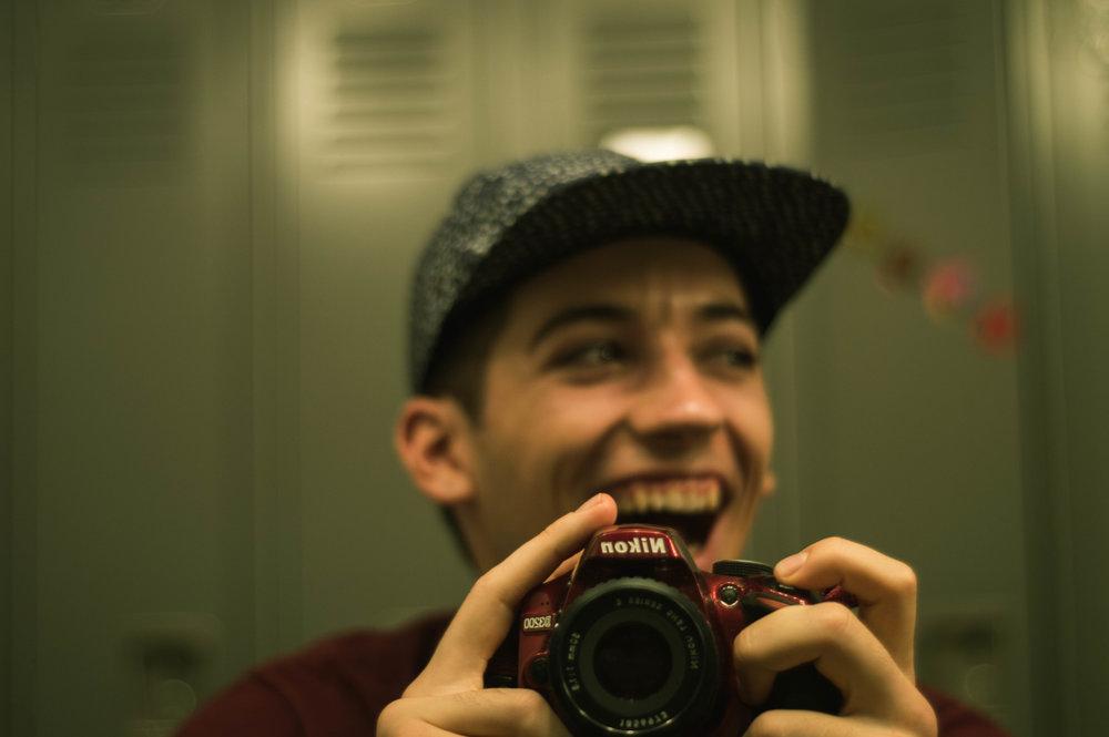 Matthew Gattozzi Laughing