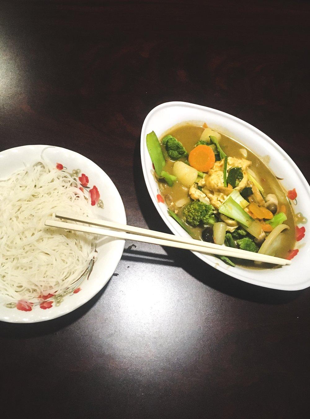 Phở Thái Sơn Vietnamese Cuisine Vegan Curry