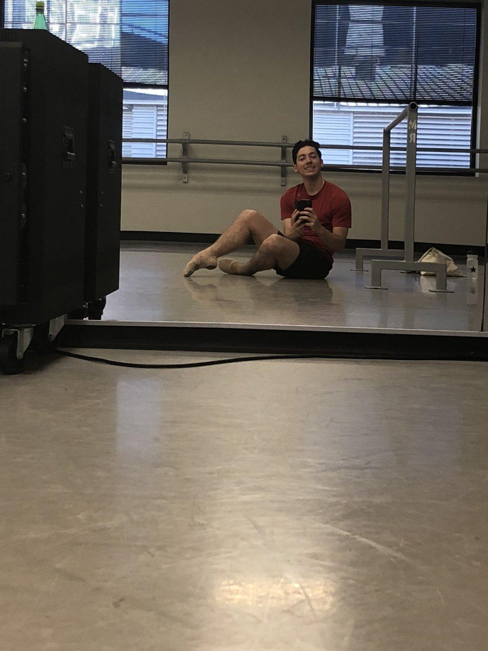 Matthew Gattozzi in Ballet Class