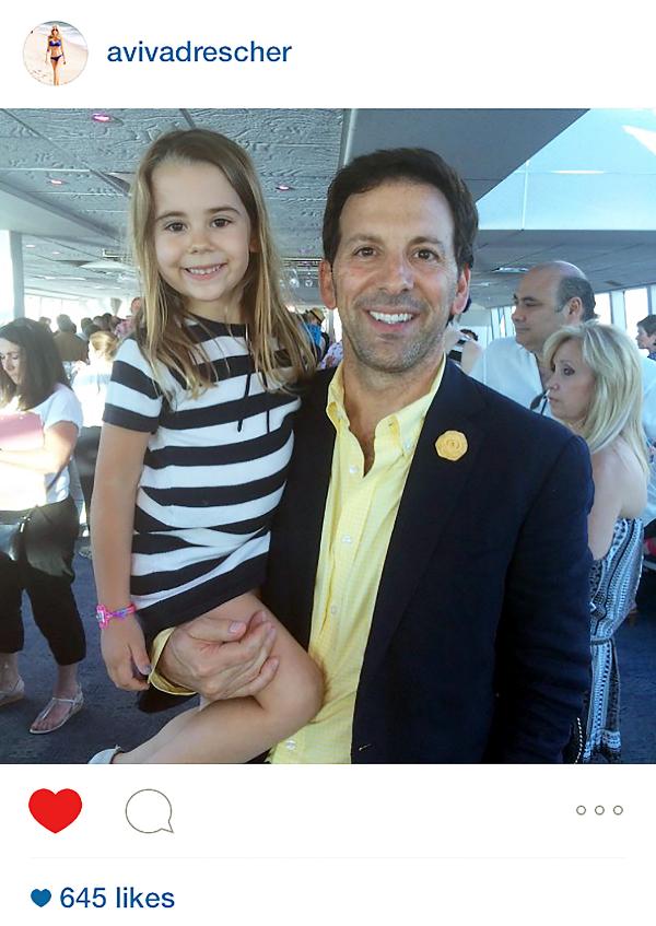Reid Drescher wears Fleur'd Pins on Father's Day