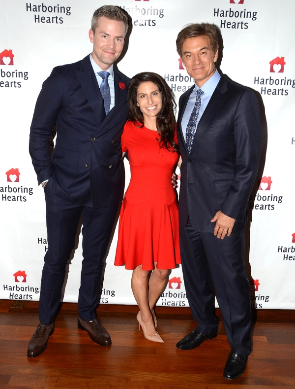 Ryan Serhant, Michelle Javian, and Dr. Oz
