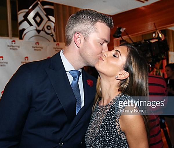 Ryan Serhant with fiancee Emilia Bechrakis