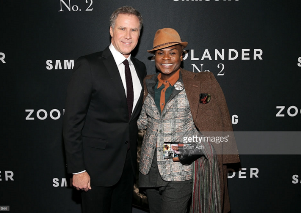 Actors Will Ferrell (L) and Nathan Lee Graham attend the 'Zoolander No. 2' World Premiere at Alice Tully Hall on February 9, 2016 in New York City. (Photo by Brian Ach/Getty Images for Paramount)
