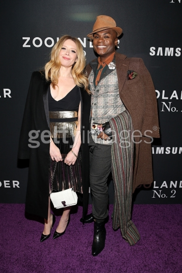Actors Natasha Lyonne (L) and Nathan Lee Graham attend the 'Zoolander No. 2' World Premiere at Alice Tully Hall on February 9, 2016 in New York City. (Photo by Brian Ach/Getty Images for Paramount)