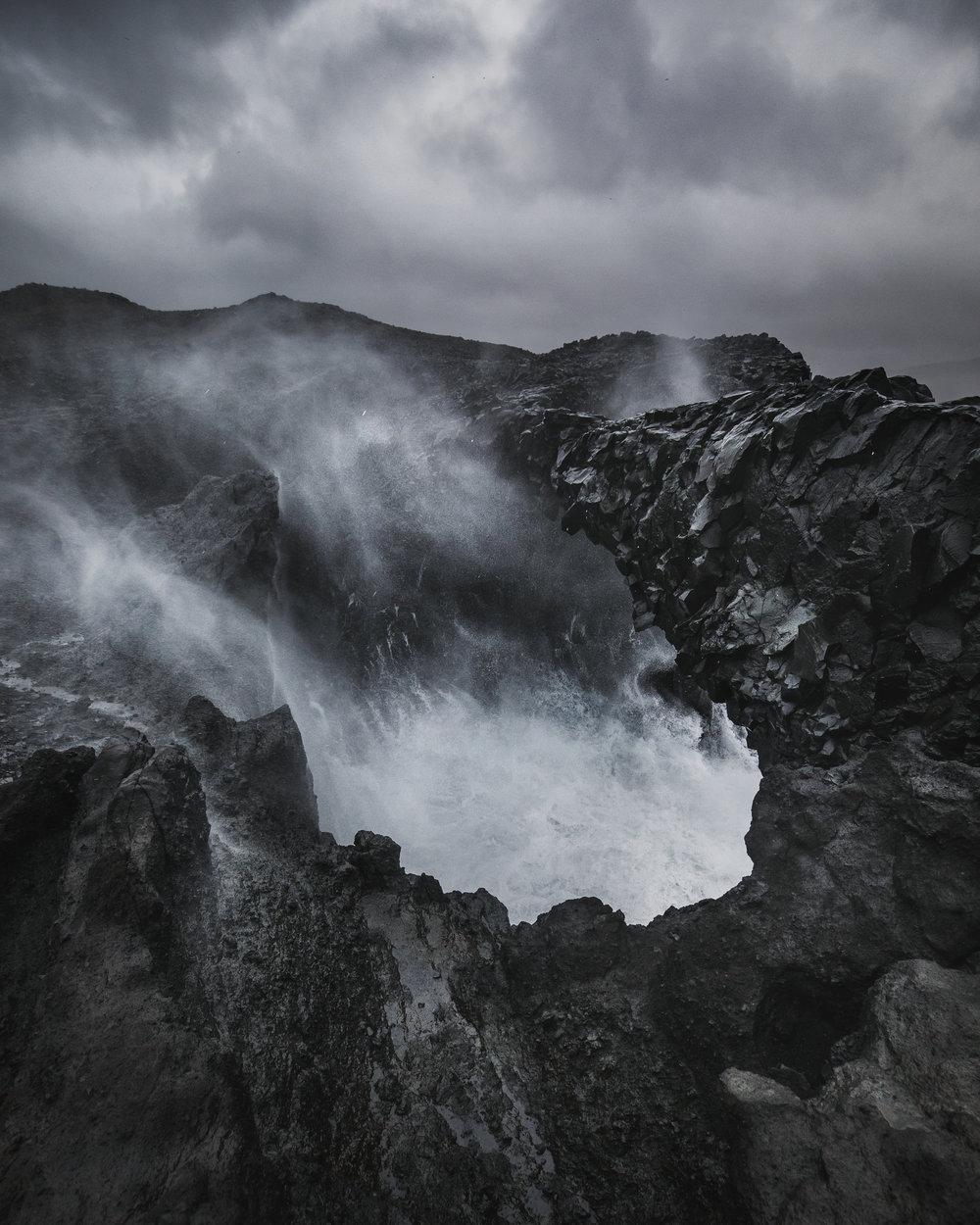 Tumultuous Coast, Iceland
