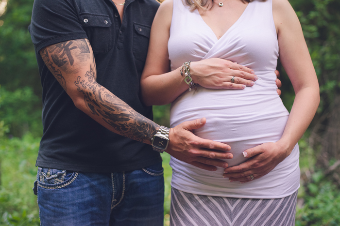 Mill creek maternity session