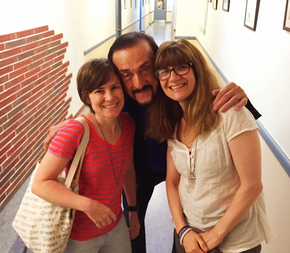 Criminologist Nickie Phillips, psychologist Philip Zimbardo, sociologist Emily Horowitz