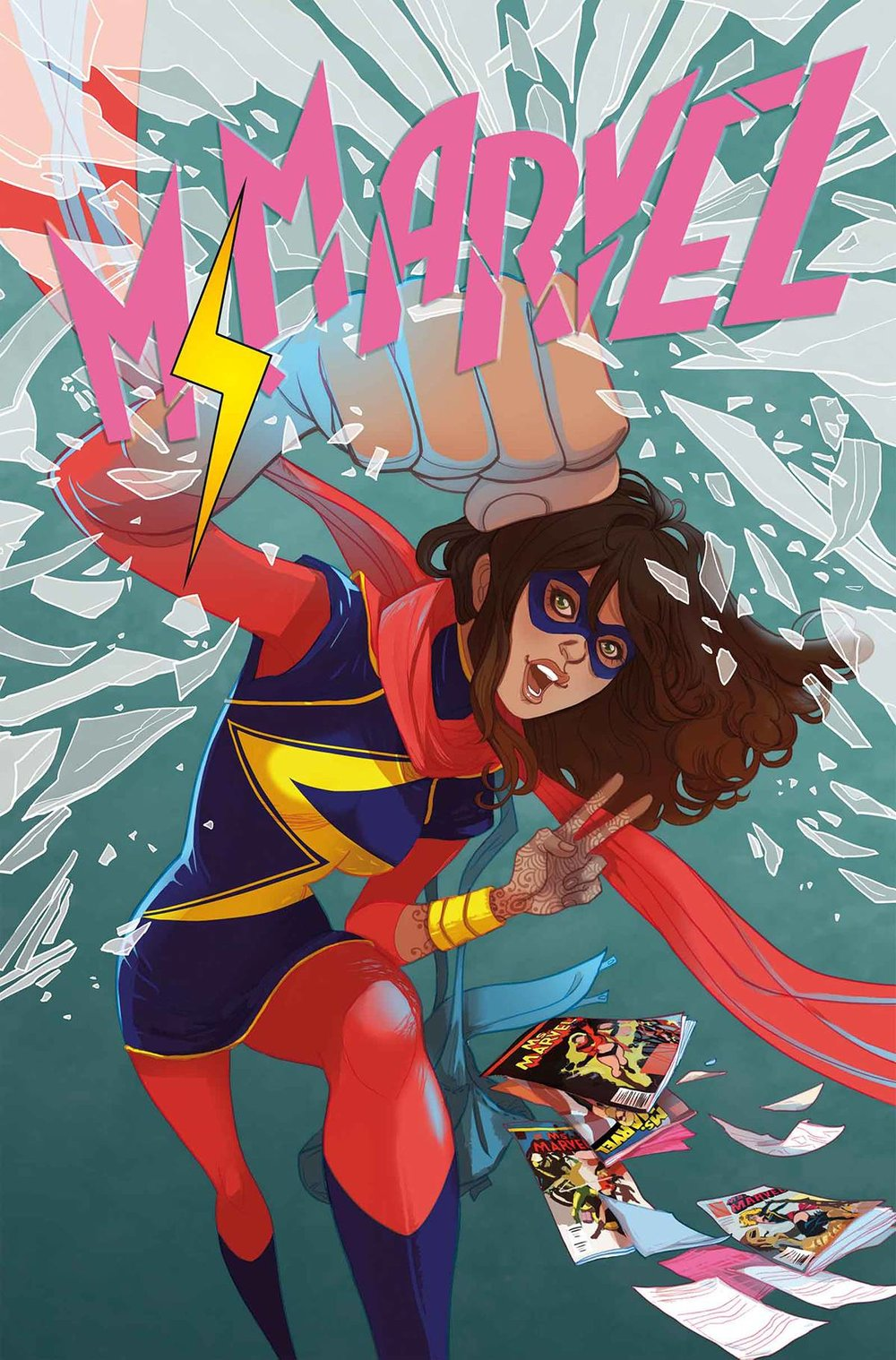 Fan favorite, Ms. Marvel
