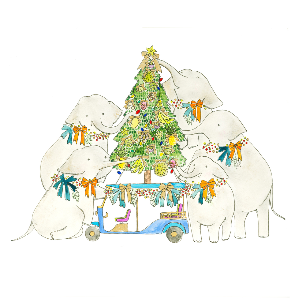 CHRISTMAS 2015 - TUK TUK ELEPHANT