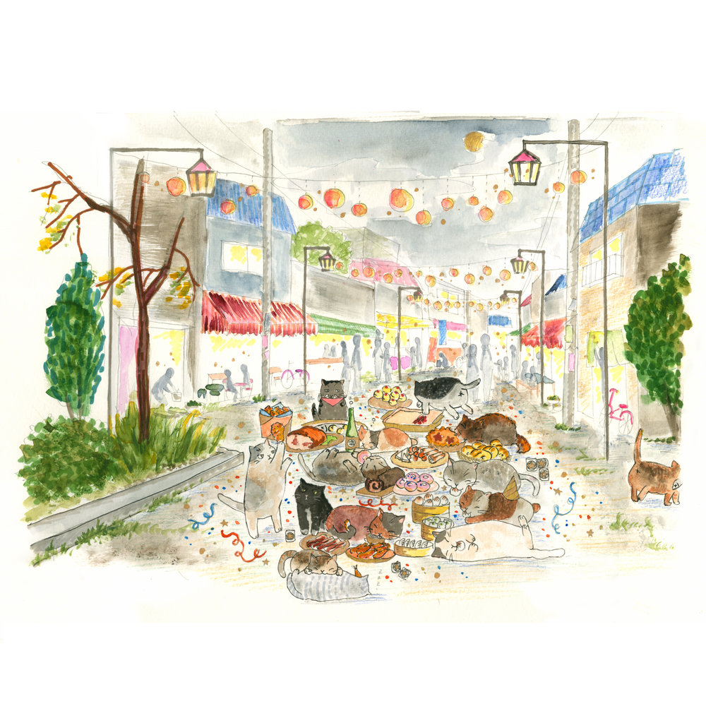 HOLIDAY 2016 - PARTY CATS