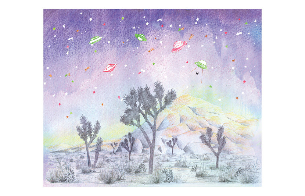 HOLIDAY 2018 - JOSHUA TREE + UFO