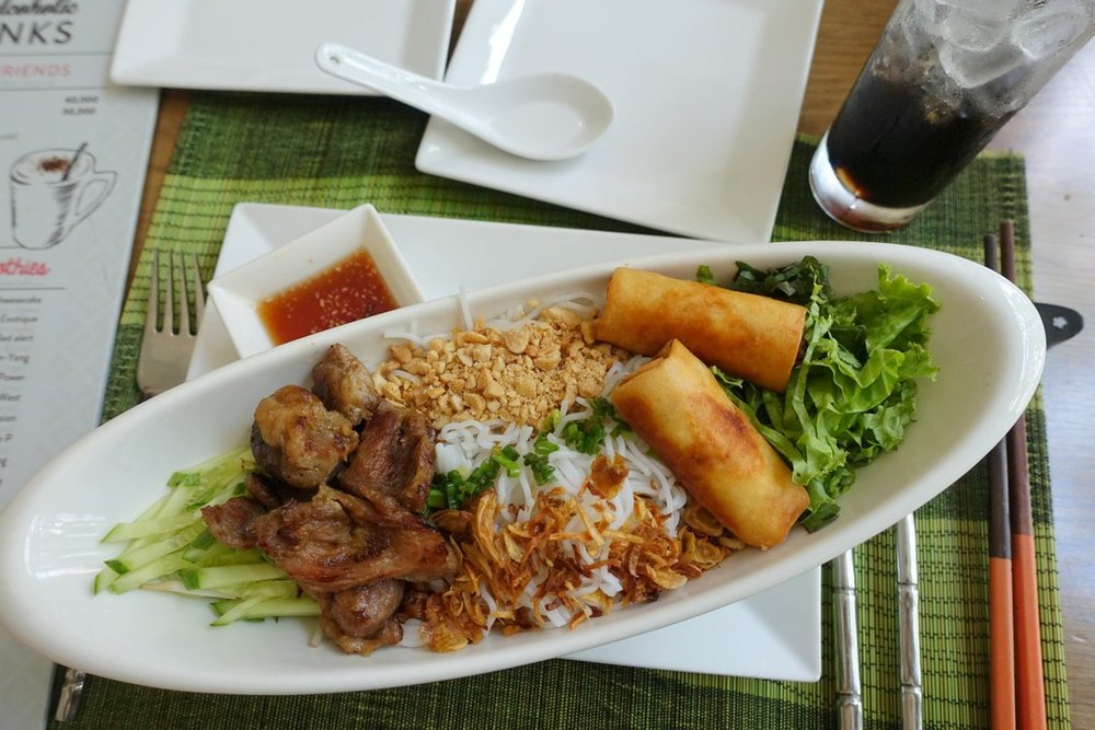 Distinctly different flavour combinations from all over south-east Asia make for very delicious Vietnamese style cuisine.