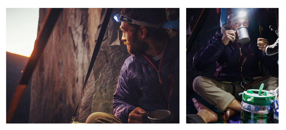 John takes in the Dawn Wall from Zodiac at sunset.