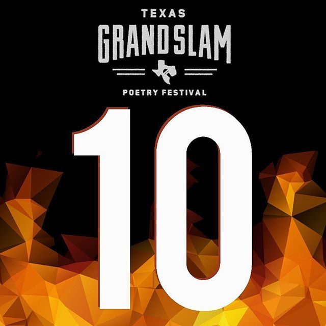 No pun inTENded but we are ten days out from TGS!! #TGS2016 Buy your tickets now at www.texasgrandslam.com