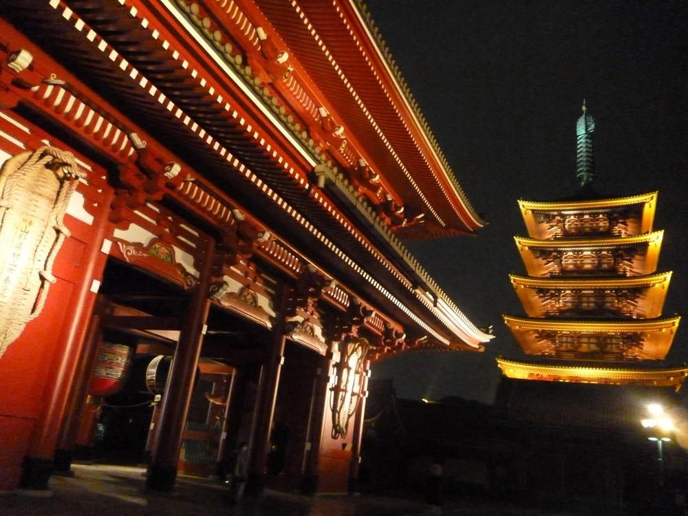 Askusa Temple (Senso-ji) Tokyo.