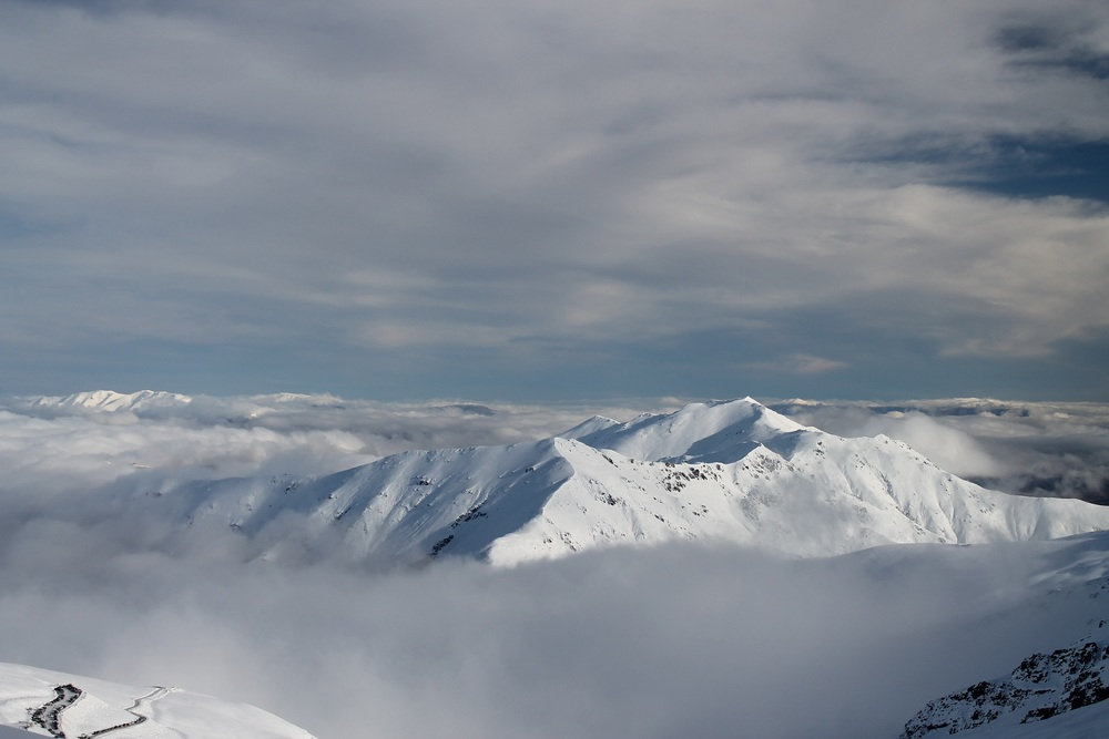 Beautiful inversion at Mount Dobson, MacKenzie Country