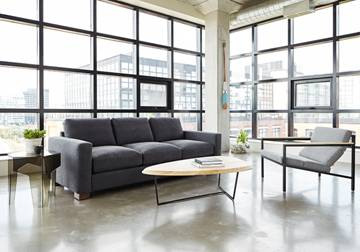Parkdale Sofa. Also comes in a Bi-Sectional and many different fabric options.