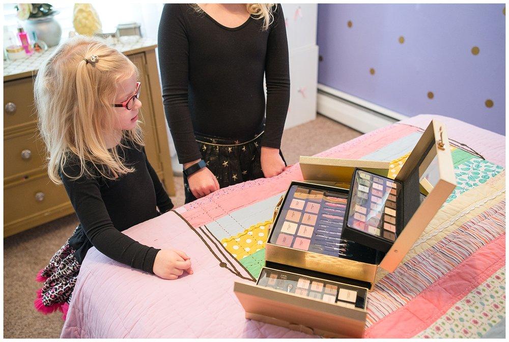 Lily's makeup kit.