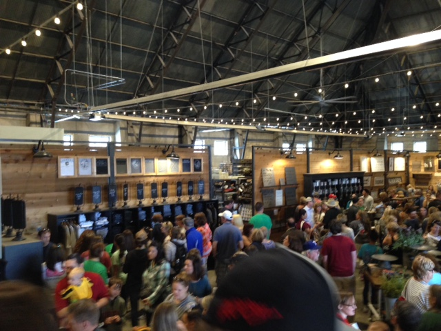 I'm going to share just this one pic of the inside of Magnolia Market.  You're going to have to go and see it for yourself.