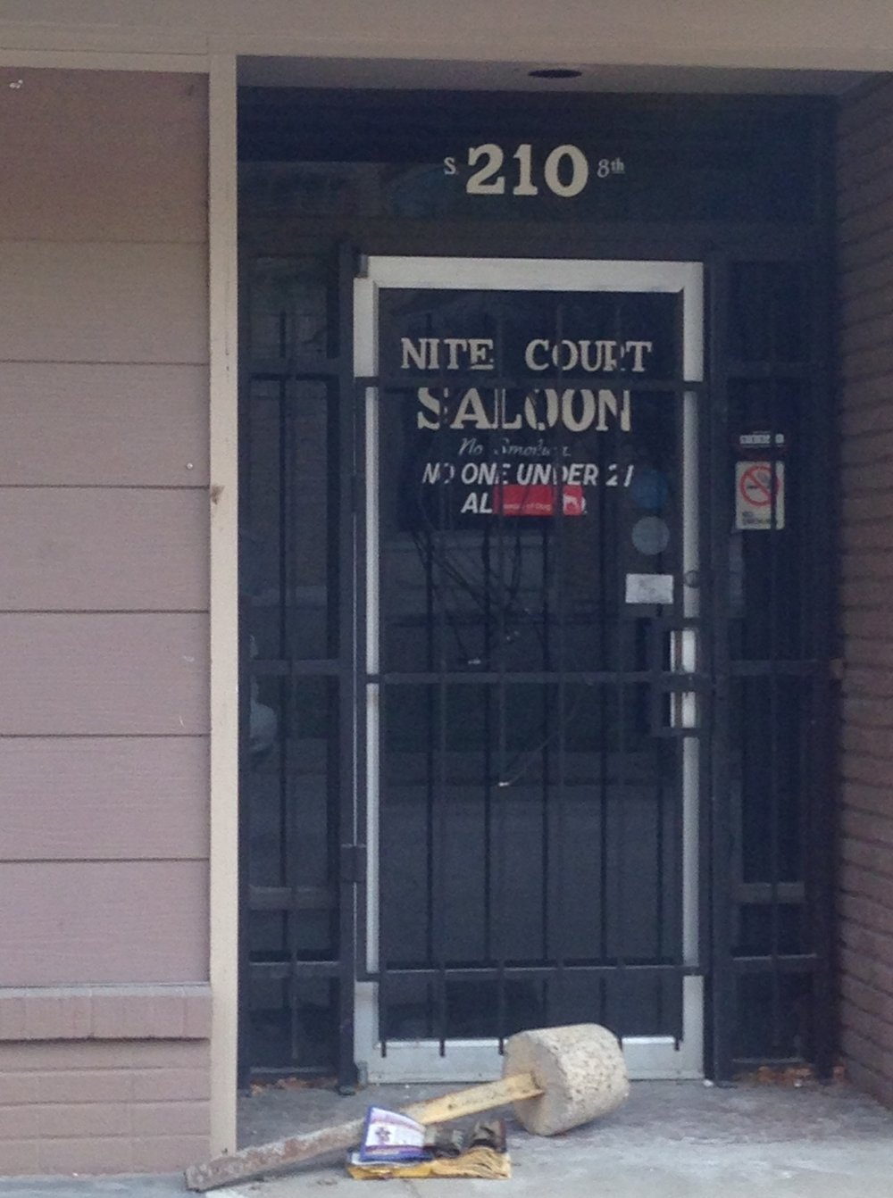 Nite Court Saloon, surely the hidden gem of downtown Waco.  Adding this to my list for next time I visit.