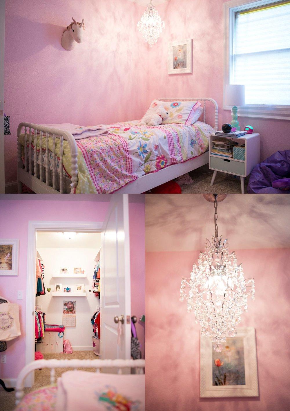 Grace's lovely room.