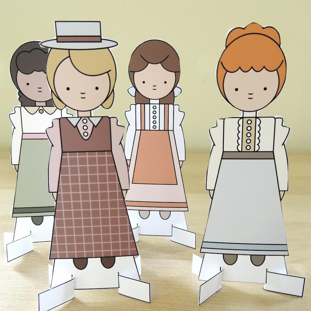 Mint Parcel Paper Dolls 1.jpg