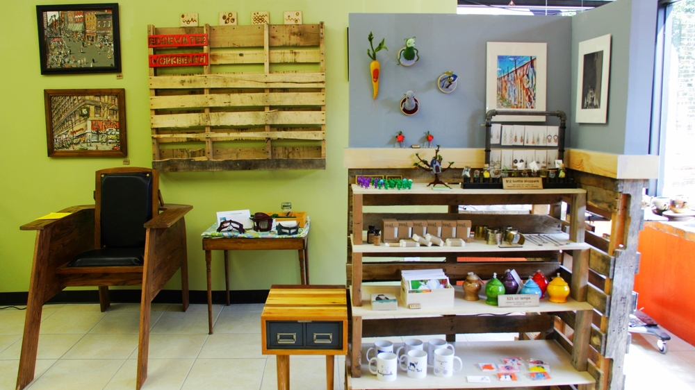 Handmade crafts art artisan Edgewater Workbench Chicago