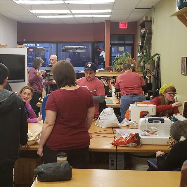 Another #community #repair #event underway! Most likely the last of the year so swing by between now and 7pm to say hi and get your broken items repaired.