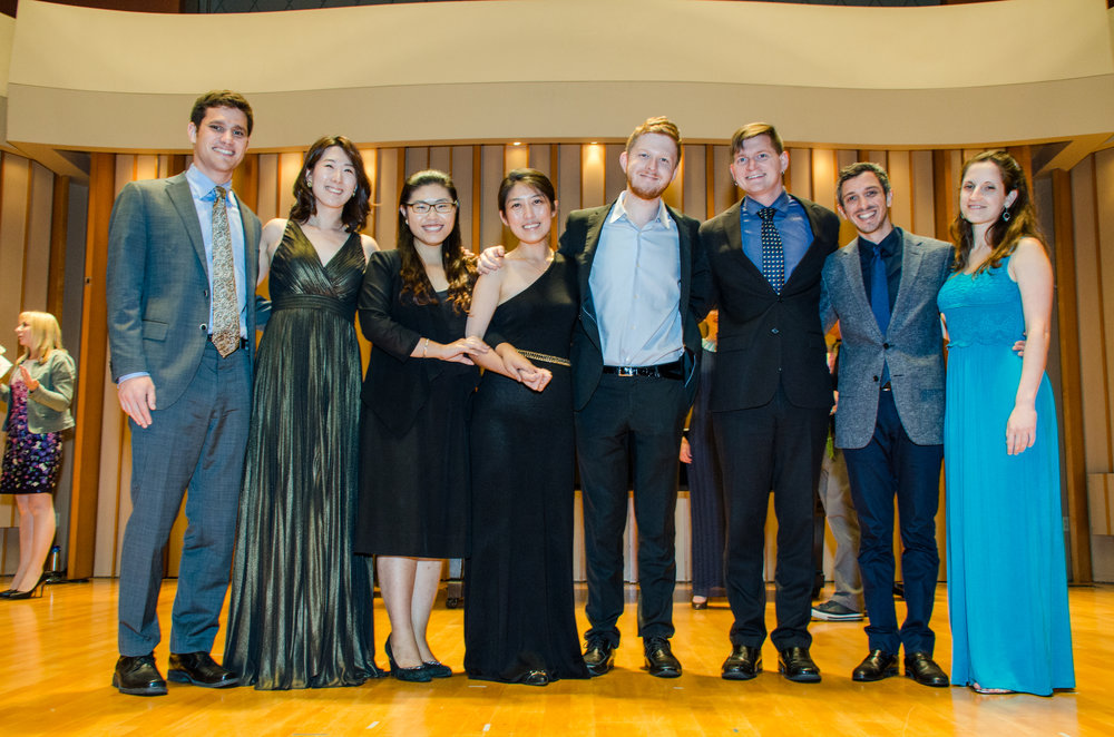 2015 Pianists after a concert.