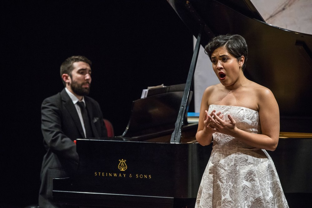 Soprano Alexandra Smither & pianist Pierre-André Doucet in concert