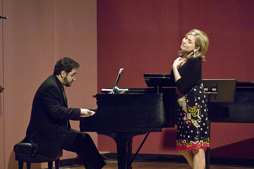 John Musto & Amy Burton, faculty