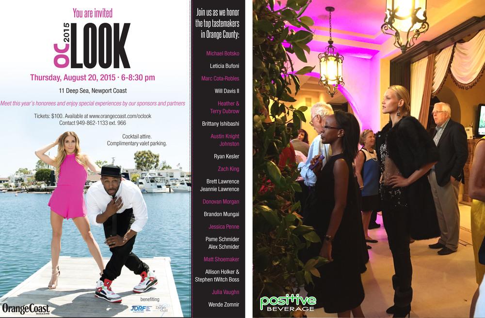 "2015 Orange Coast Magazine ""OC LOOK"" party, Newport Coast CA"