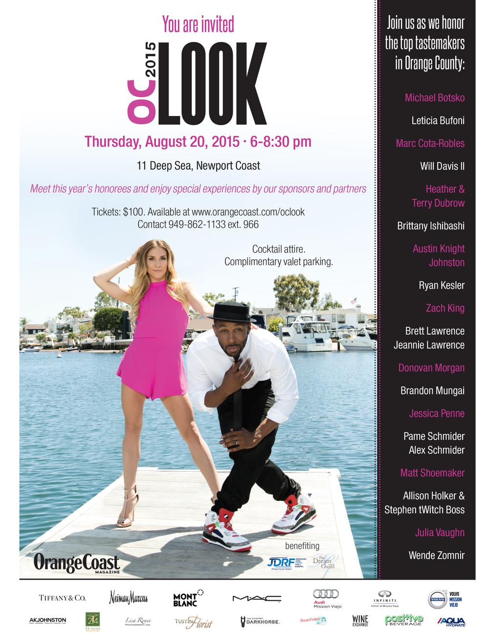 "The 9th Annual ""OC Look"" Party to support JDRF by Orange Coast Magazine"