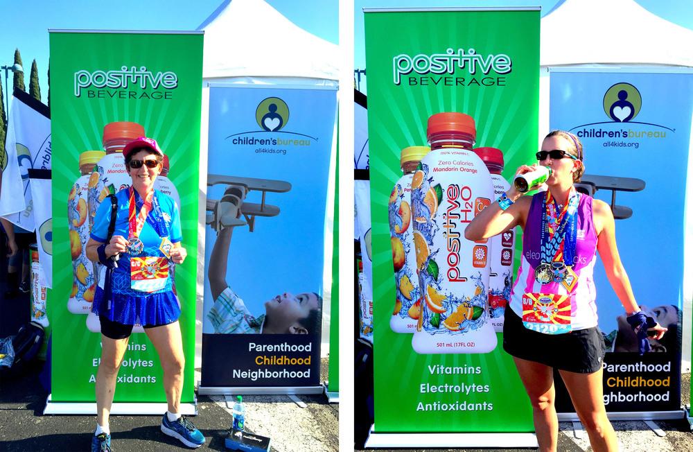 Positive Beverage at the 2015 Disneyland half Marathon