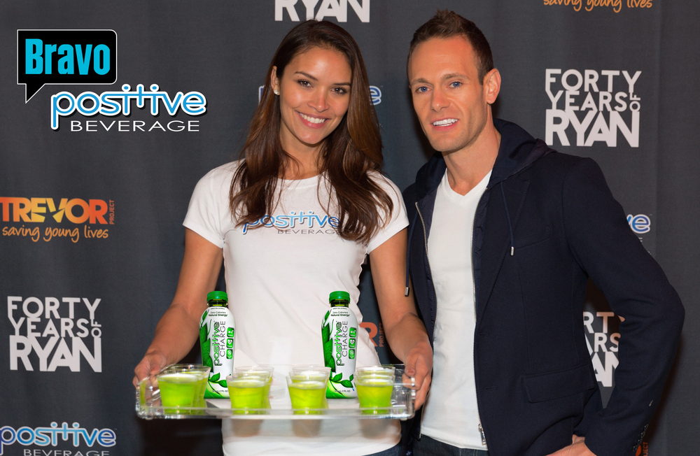 "Positive Beverage Co-Founder, Zach Muchnick at the Bravo filming of, ""My Fab 40th"""