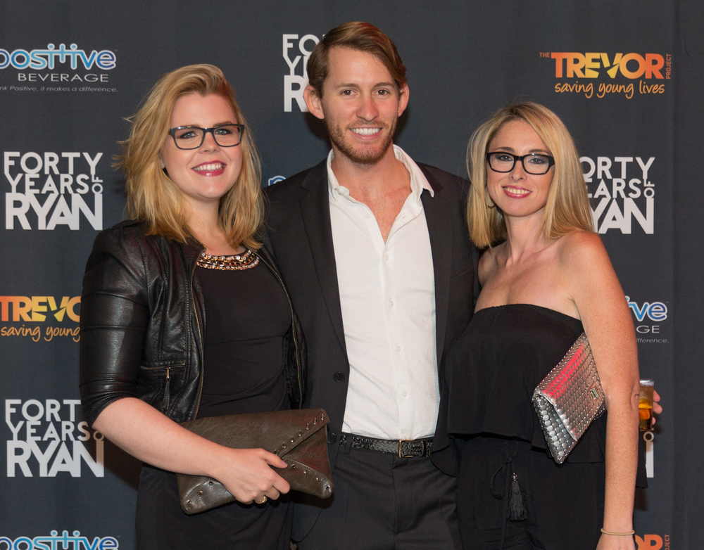 "Celebrity guests attending Ryan Fishers ""My Fab 40th"" by Bravo TV at the W Hollywood"