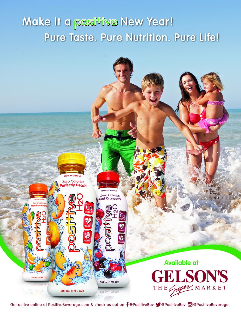 Positive Beverage Orange Coast Magazine Advertisement January 2016