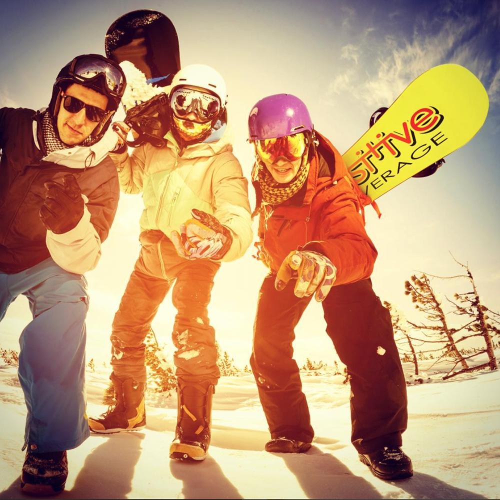 Positive Beverage Arapahoe Basin Snowboarding
