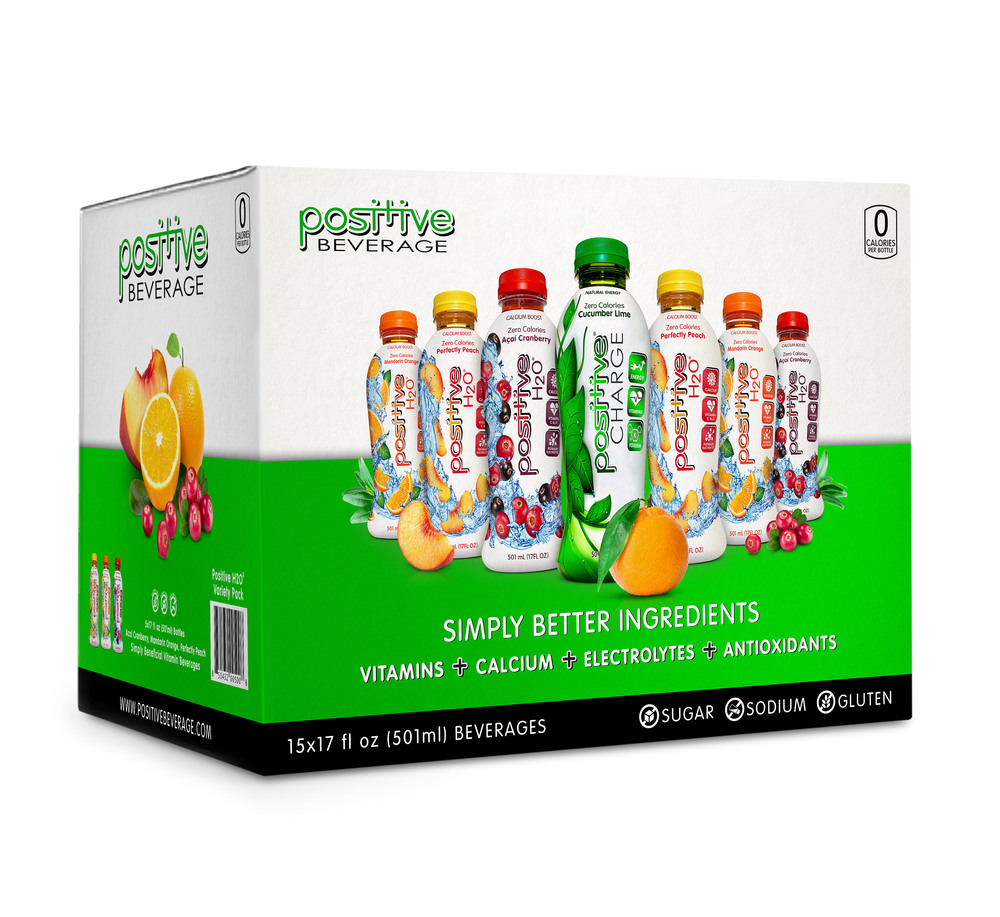 Positive Beverage Variety Case