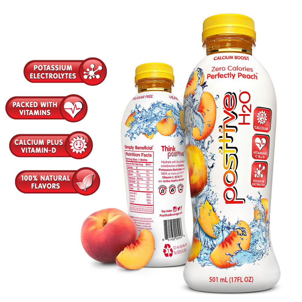Positive H2O® Perfectly Peach Beverage