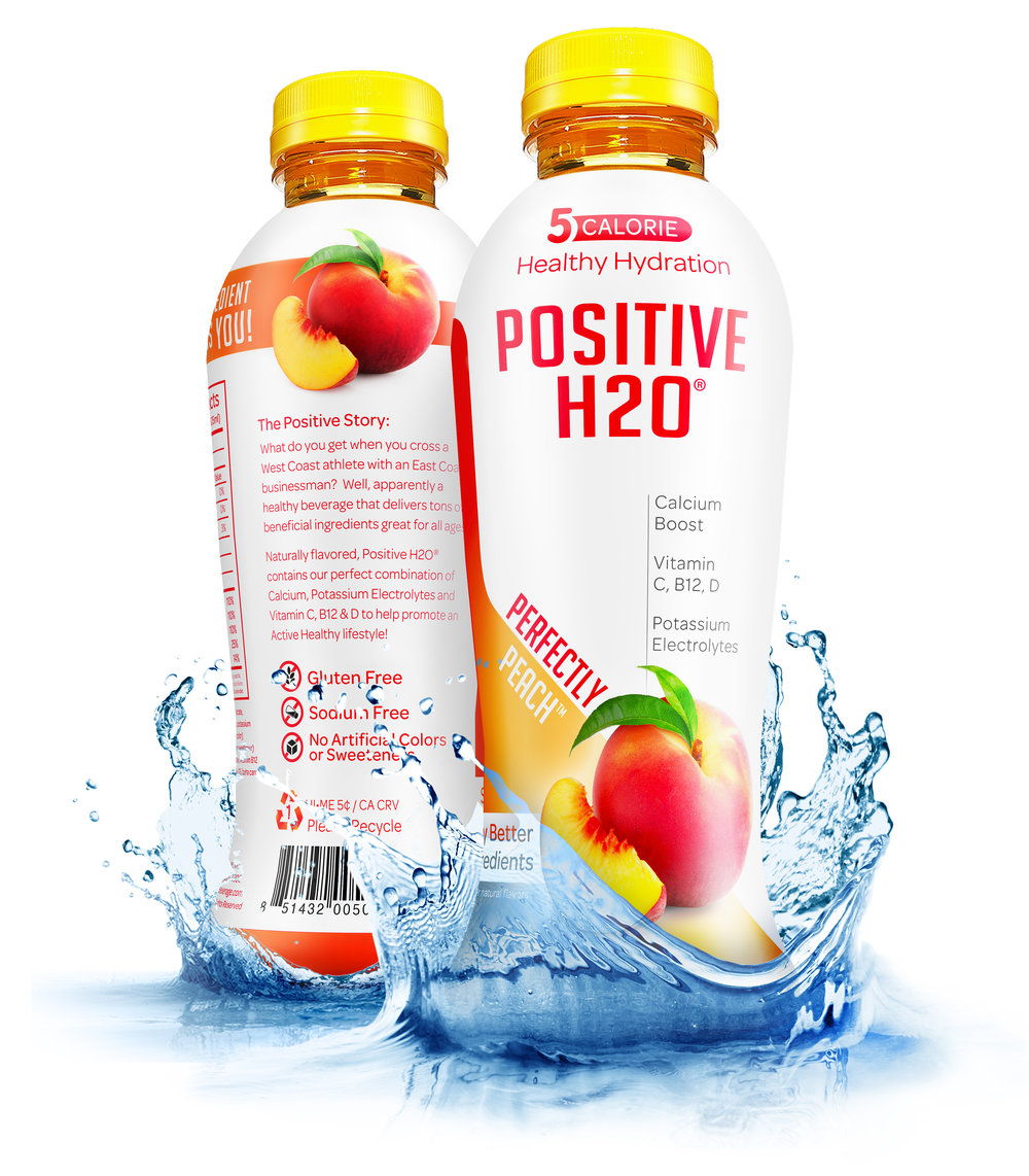 Positive H2O - Perfectly Peach