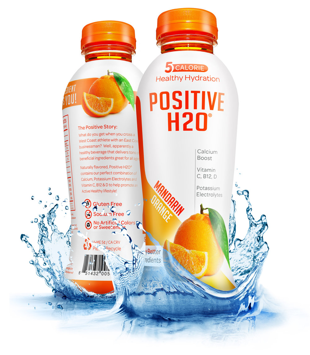 Positive H2O - Mandarin Orange