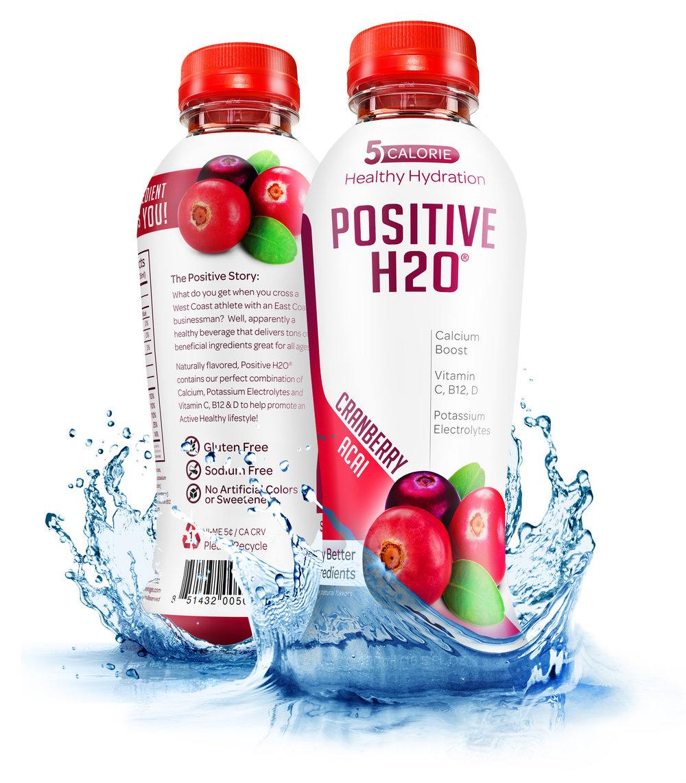 Positive H2O - Cranberry Acai