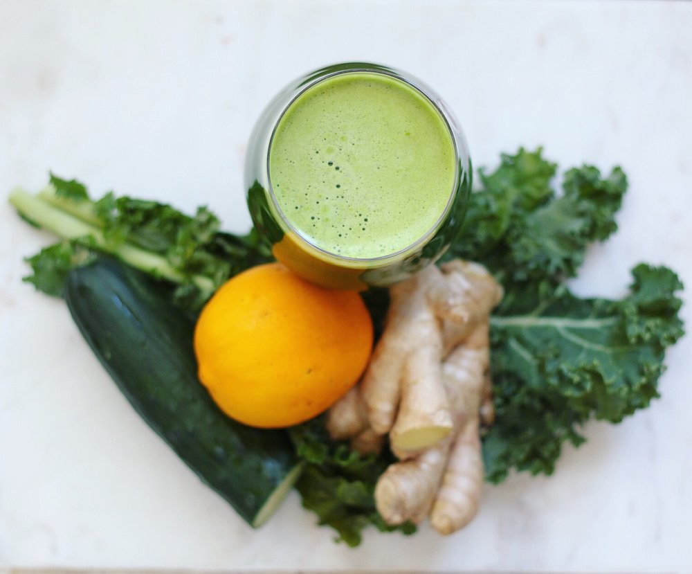 Green Goddess Slow Juice with Hurom