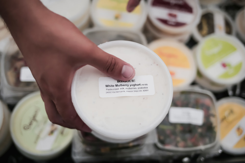 Bounjour! Creamy Yogurt | Orange Homegrown Farmers Market