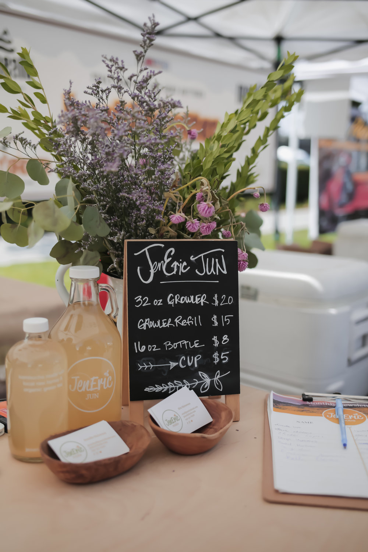 JenEric Foods Jun Kombucha | Orange Farmers Market