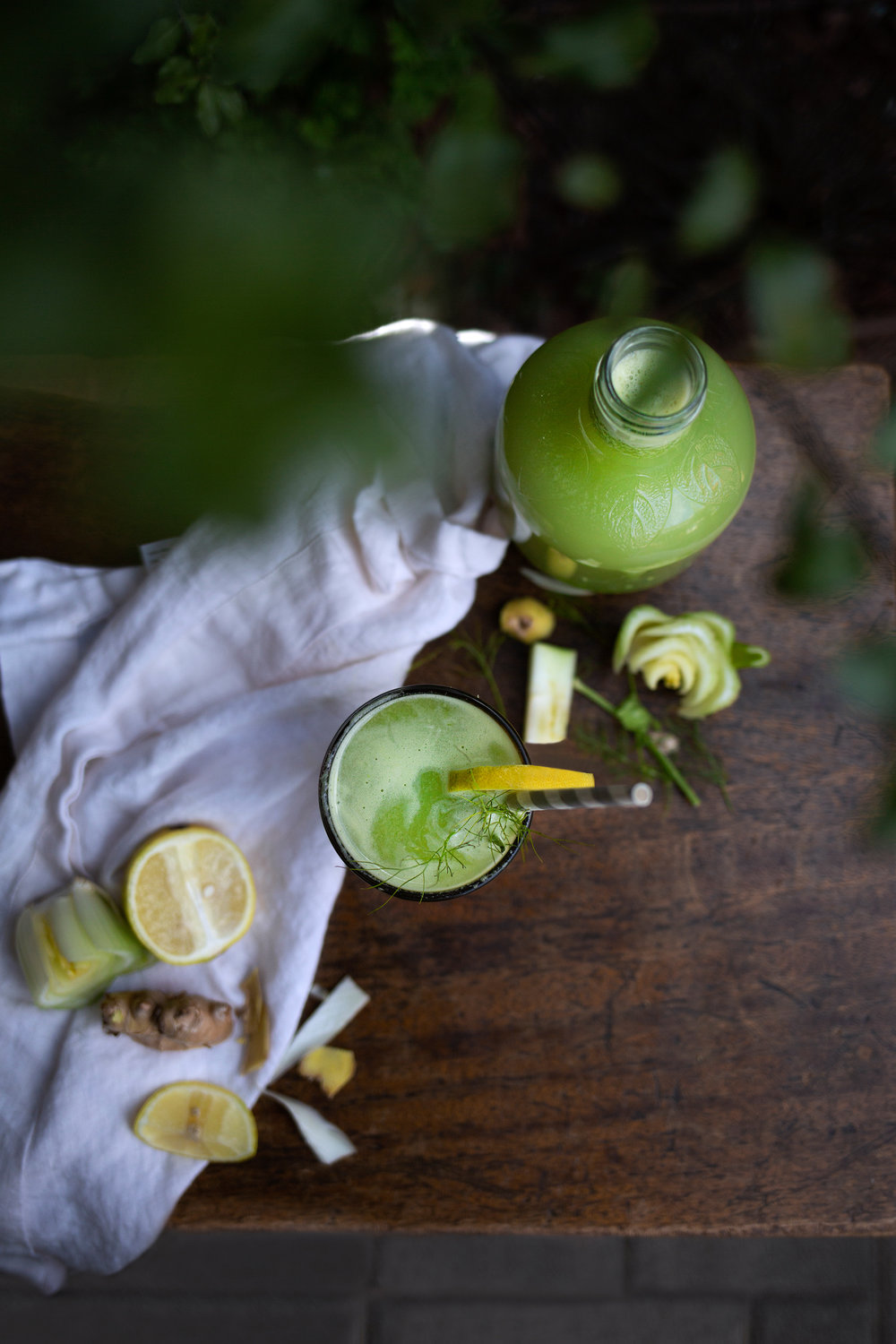 Fennel Apple Celery Ginger Juice | Purposeful Plate