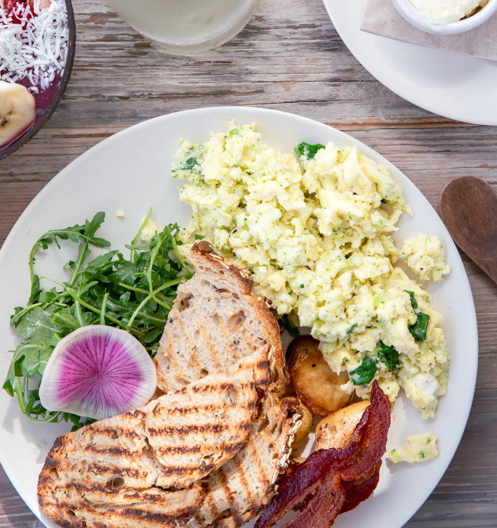 Green Egg Scramble, Malibu Farm, Newport Beach