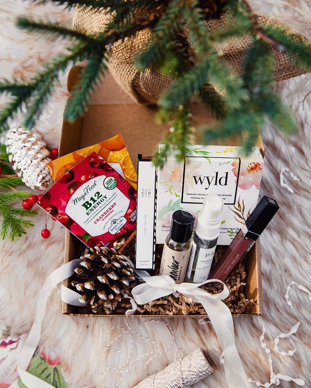Natural Beauty Holiday Gifts: GoodBeing Monthly Subscription