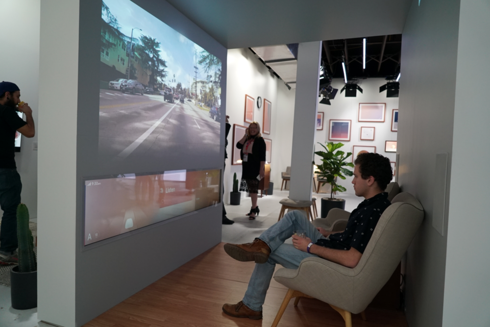 Interactive creative software created for NIO, an autonomous vehicle company, at SXSW in Austin, TX.